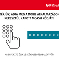 Készpénzfelvétel bankkártya nélkül? Már itthon is lehetséges! Az UniCredit Bank Magyarországon elsőként vezeti be az mCash szolgáltatást