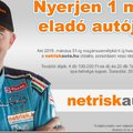 Használt autót is kereshet a Netrisknél  Az új felületen ingyenesen hirdethetnek a cég lakossági és üzleti partnerei is