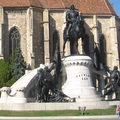 Mátyás király szobra