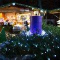 A hatodik adventi fesztivál és vásár idejére ismét fényligetté változik a budapesti Városháza park