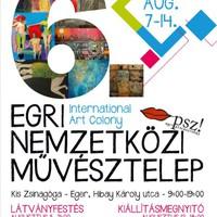 Két művészeti ág barátsága Egerben -- Kezdődik a VI. Egri Nemzetközi Alkotó- és Művésztelep