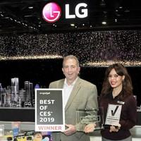 Az LG számos kategóriában több mint 140 díjat söpört be a CES-en