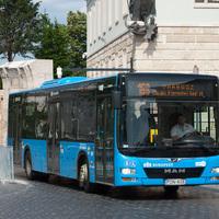 Budapest castle buses - 2019