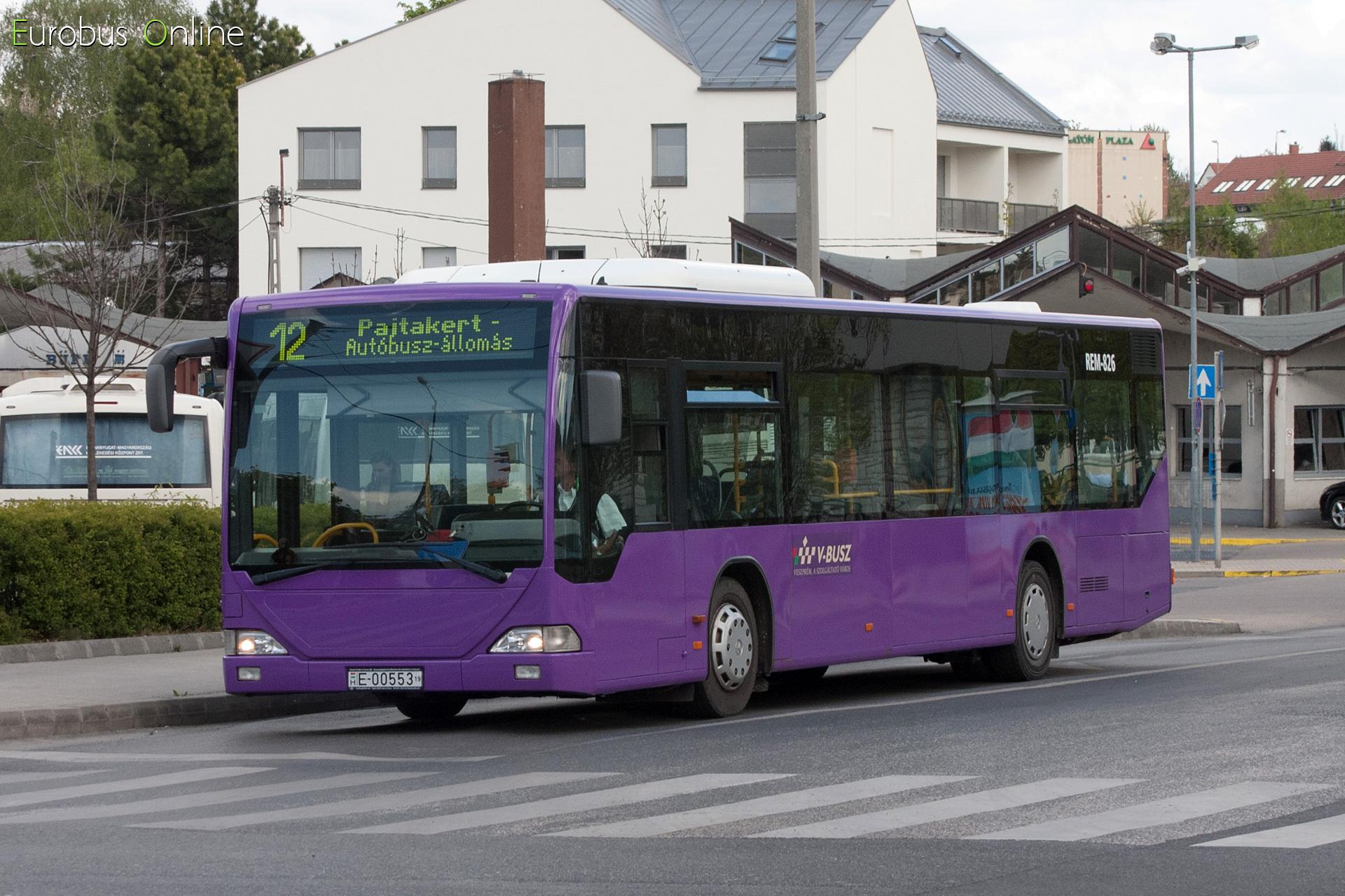 E-00553 mint REM-826