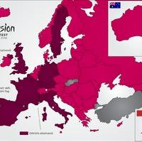 Végül 43 ország vesz részt az Eurovízión