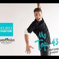 Eurovízió 2017 - EuroFaktor Top 23