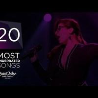 A 20 legalulértékeltebb dal az Eurovízión 2010 és 2016 között