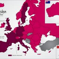Ausztrália a 41. ország, összeállt a 2016-os Eurovízió mezőnye