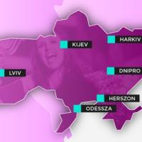 Megvannak a lehetséges városok, Kelet-Ukrajna keményen harcol az Eurovízióért