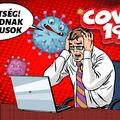 Virtuális világjárványt is elindított a COVID-19