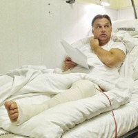 Orbán részegen szenvedett balesetet - megműtötték