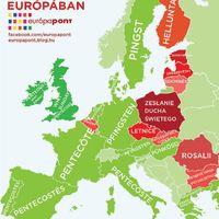 Pünkösd Európában