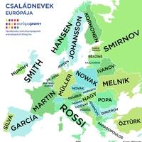 Családnevek Európája
