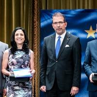 A Magyarok Európáért díj idei díjazottja: Oláh-Berezvai Ágnes