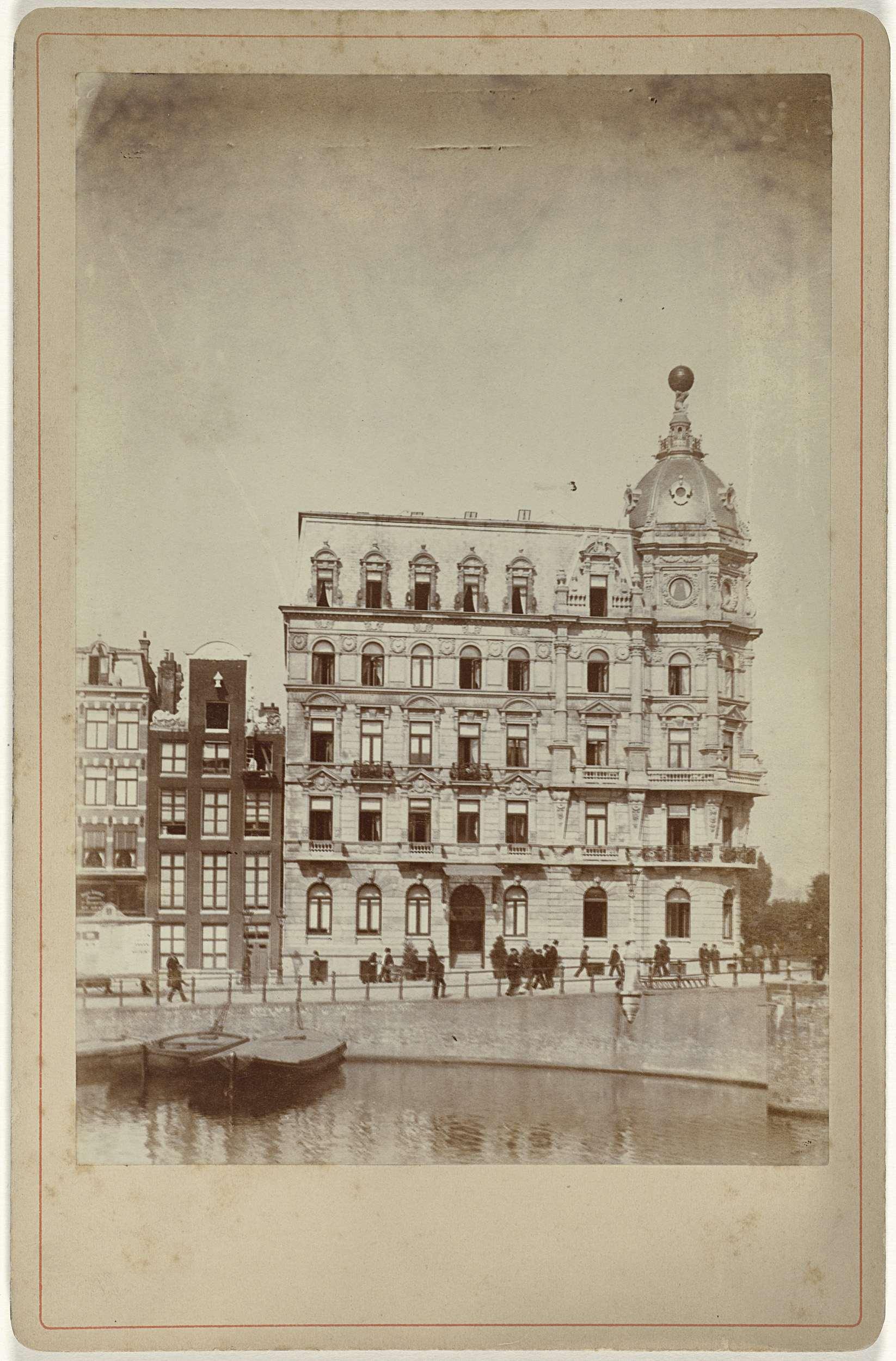 Het Victoria Hotel, Amsterdam (Institution Rijksmuseum)