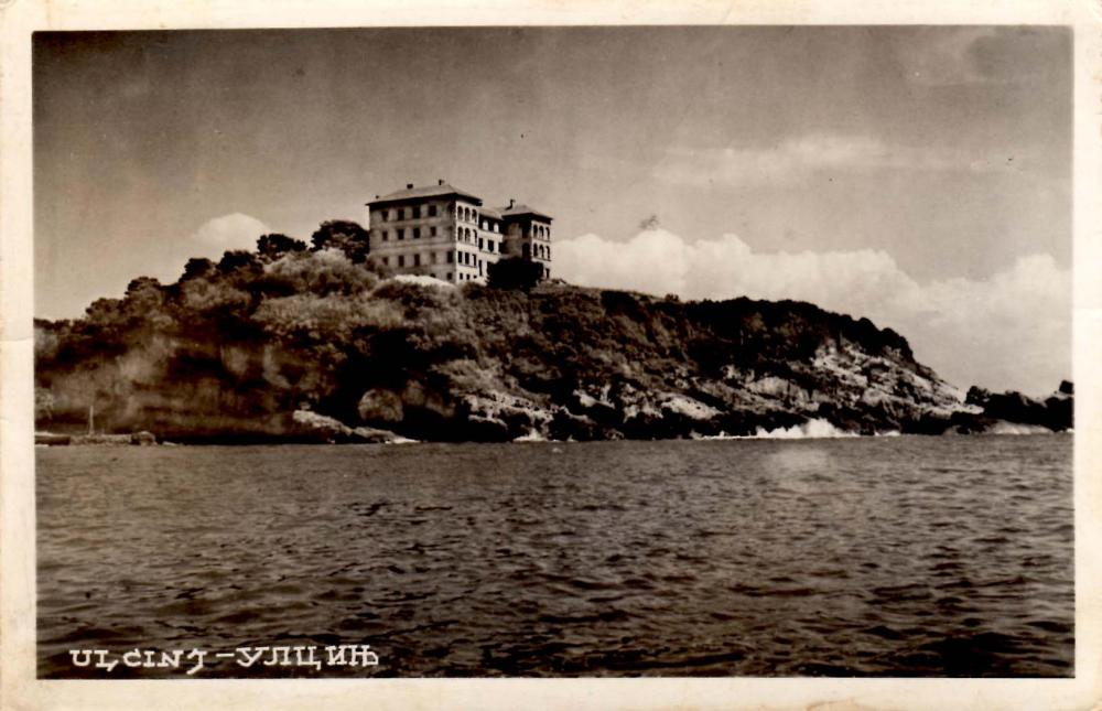 Ulcinj, Hotel Jadran (National Library of Montenegro 'Đurđe Crnojević)