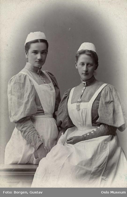 A Vörös Kereszt ápolói. Gustav Borgen, 1895. Oslo múzeum, Norvégia, CC BY-SA