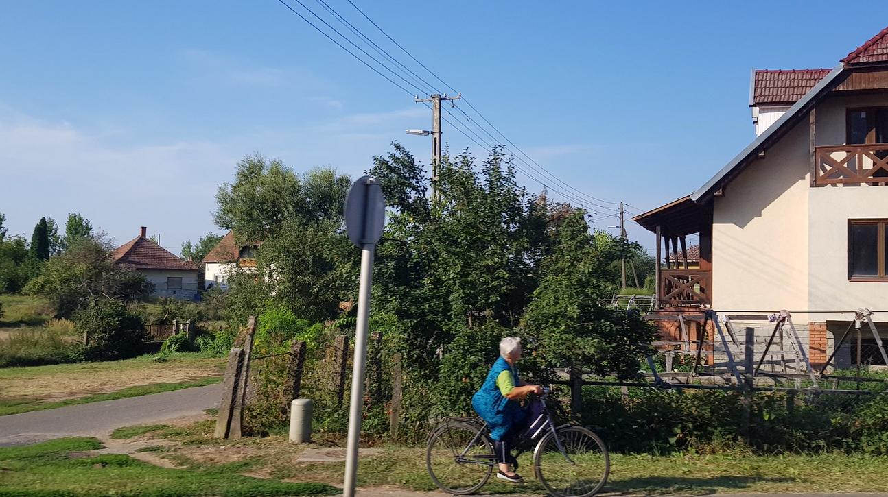 Kerékpározás vidéken