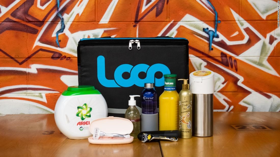 A legkedveltebb FMCG termékeket újrahasznosító csomagolással forgalmazó Loop