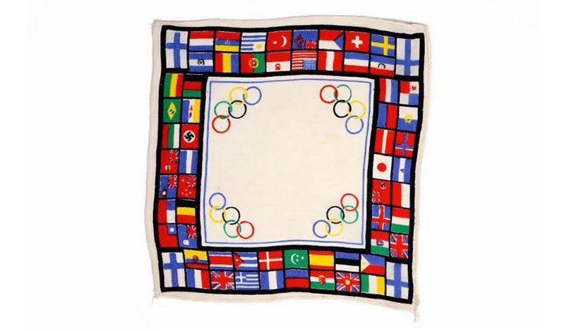 Zsebkendő a Helsinkibe tervezett olimpiáról, CC BY-NC-ND