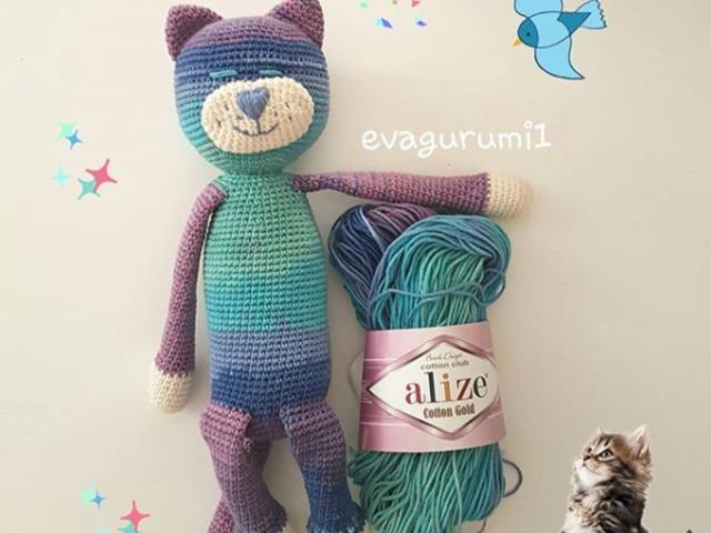 Large Ami Cat crochet pattern - Amigurumi Today   480x640