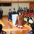 Rengeteg európai koronás fő jelenlétében lépett trónra a japán császár