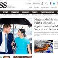 Londonban tűnt fel egy estélyen Meghan és Harry - ez volt első hivatalos megjelenésük együtt kilépésük bejelentése óta