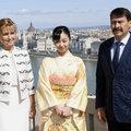 Japán hercegnő érkezett Budapestre