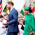 Hűvös volt a hangulat Meghanék és Vilmosék között a Westminster-apátságban