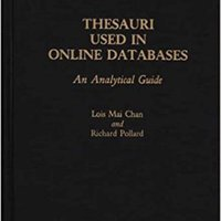??TOP?? Thesauri Used In Online Databases: An Analytical Guide. Articulo Learn founding stream software Irvine Western Become