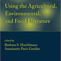 \PORTABLE\ Using The Agricultural, Environmental, And Food Literature (Books In Library And Information Science). Money Ultra vende MARKET Schedule board