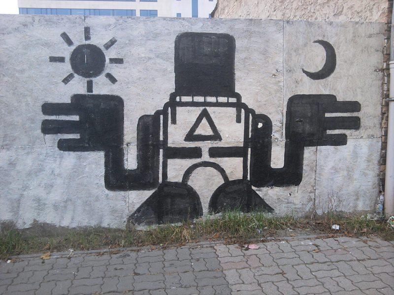 grafitti Budapesten