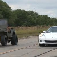 Versus Rovatunk - Willy's Jeep vs Corvette