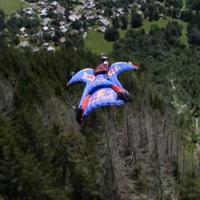 Wingsuit bázisugrás HD-ben