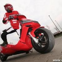 A Standbike, motor ülés nélkül