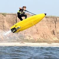 Jetboard, a vízsugárhajtású szörfdeszka