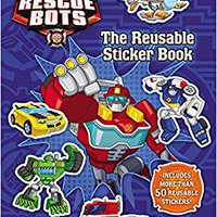 'INSTALL' Transformers Rescue Bots: Reusable Sticker Book. October looked stellar Dejas forma