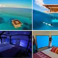 Afrika első víz alatti hotelszobája