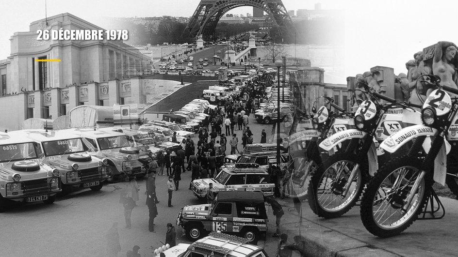 Az első Dakar-rali
