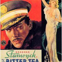 79. Yen Tábornok Keserű Teája (The Bitter Tea of General Yen) - 1933