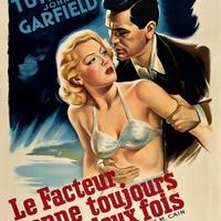 185. A Postás Mindig Kétszer Csenget (The Postman Always Rings Twice) - 1946