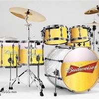 Alkoholista zenészek dobszerkója