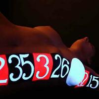 Sötétben Világító Testfestés: