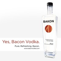 WTF? Bacon Ízű Vodka: