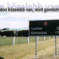 London közelebb van, mint gondolnád!