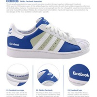 Facebookos cipő