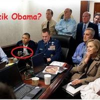 Bin Laden elfogása közben: