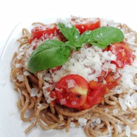 Teljes kiőrlésű tészta olaszosan