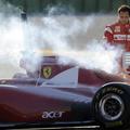 Kigyulladt az új Ferrari