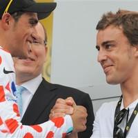 Alonso menti Contadort Armstrongtól